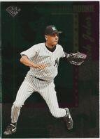 1996 Leaf Derek Jeter Gold Foil Rookie RC New York Yankees Hall of Fame HOF (B17