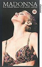 Madonna - The Girlie Show - Live Down Under [VHS] [1993], Good DVD, ,