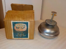 VINTAGE STARR BROS. BELL CO. BERMUDA CARRIAGE BELL WITH ORIGINAL BOX