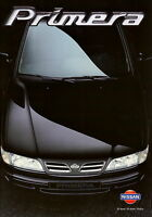 Nissan Primera Prospekt 1997 9/97 deutsche Ausgabe brochure broschyr catalogo
