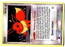 POKEMON EX FORCES CACHEES UNCO N°  55/115 EVOLI (EEVEE) (Française)(French)