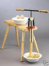 Torchio Bigoli Hand Press Pasta Maker by Bottene Spaghetti Extruder no 6