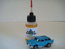 Liquid Bearings, SUPERIOR slot car oil for vintage HO-scale, PLEASE READ