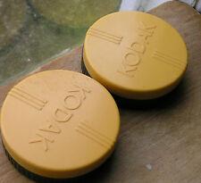 2x Antigua Kodak distintivo 59 x16mm (internamente) Filtro guardianes de plástico
