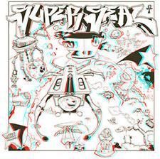 DJ Qbert Super Seal 3D Battle Record Skratchy Thud Rumble Red/Blue/Clear Vinyl!