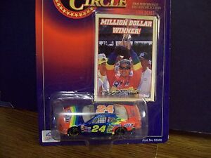 JEFF GORDON NO BULL MILLION DOLLAR WINNER 1998 1/64 scale NASCAR W/CARD 1:64