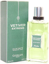 Vetiver Extreme by Guerlain 3.4/3.3 oz Eau De Toilette Spray for Men New In Box