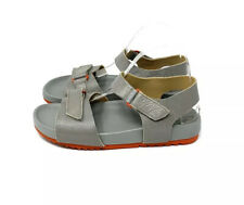 Naturalizer Gray Leather Ari Sandals Women's Size 9.5 Wide