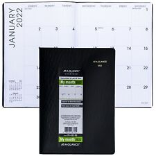 2022 At A Glance 70 432 Monthly Planner 7 X 9 1516 Faux Crocodile Cover