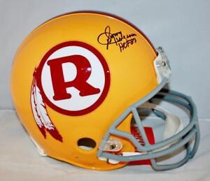 Sonny Jurgensen HOF Signed F/S Redskins 70-71 TB ProLine Helmet- JSA W Auth *Blk