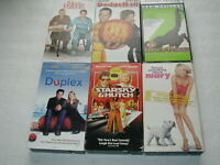 BEN STILLER 6 PACK VHS MOVIE LOT RARE OOP HTF