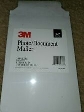 3M Photo/Document Mailer 2 Pack Mailers 5.75 In X 8.5 In New Office Supplies