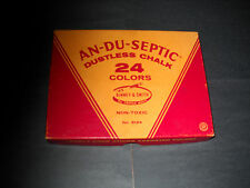 An-Du-Septic dustless chalk 24 Pack