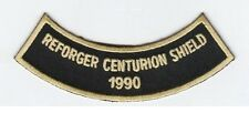 "REFORGER 1990 CENTURION SHIELD  4"" rocker tab embroidered patch"