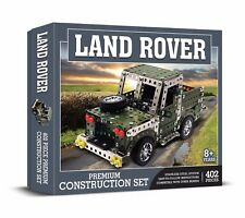 Land Rover Construction Set 402 PIECE STAINLESS STEEL SYSTEM Meccano Like