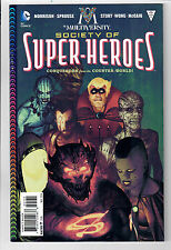 Multiversity: Society Of Super-Heroes #1 - 1 in 25 Variant by Frazer Irving! Nm