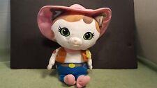 Disney Sheriff Callie  Pink Cowboy Hat Plush Toy Sing Along