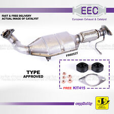 EEC CATALYST FR6053T TYPE APPROVED FORD FOCUS GALAXY MONDEO S-MAX 1.8 FREE KIT