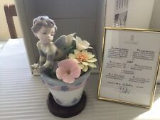 """More details for rare retired lladro figurine """" bumblebee fantasy """" ltd ed 2000 , boxed mint #"""
