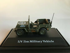Jeep CJ-5 1/4 Ton US Army 1944 Cararama Fahrzeug Modell 1:72