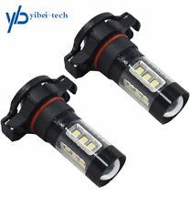 LED Fog Lights For 07-15 Chevrolet Silverado 1500 2500 3500 80W 6000K 5202 USA