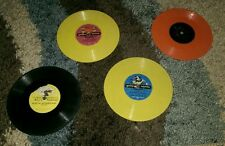 33 RPM Vinyl Record Lot of 4 The Sandpipers Golden Records Mickey Mouse Alice
