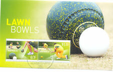 Australia-Lawn Bowls Min sheet cto-fine used