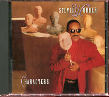STEVIE WONDER - CHARACTERS - CD ALBUM [2572]