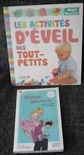 Lot 2 livres : Les activités d'éveil des tout-petits et Maman débutante