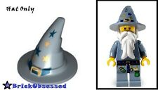 LEGO Witch Hat Sand Blue Gold Buckle & Stars Castle 5614 Fantasy Era Good Wizard