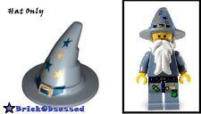 LEGO Witch Hat Sand Blue Gold Buckle & Stars Castle 5614 Fantasy Era Good Wizard