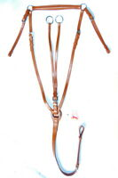 FSS Adjustable Traditional Hunt Hunting Breastplate Running Martingale Atachment