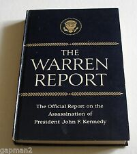 Warren Report HC Book Official Report on the Assassination of President Kennedy
