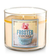 Bath & Body Works Frosted Cupcake Three Wick 14.5 Ounces Scented Candle