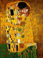 Superb A3 180gsm Glossy Wall Art Poster Print , The Kiss by Gustav Klimt