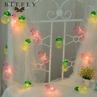 1.5M 10LED Flamingo Pineapple Fairy Lighting Led String Lights Patio Festival