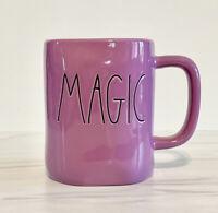 Rae Dunn Halloween MAGIC Purple Ceramic Mug.