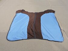 Blue & Brown EOUS Fleece/Mesh Combo Cooler - Size 78