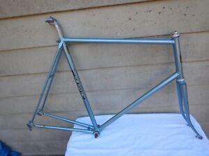 63-cm Vintage Trek TX500 Road Touring Bike Frameset Ishiwata Lugged 1978