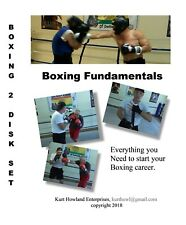 """""""EASY BOXING LESSONS, 2 Disk Video set, Learn to Box, DVD's For Boxing or MMA"""