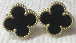 Van Cleef&Arpels Vintage Alhambra Yellow Gold Earrings