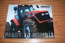 AGCO  RT/DT Series  TRACTORS LITERATURE