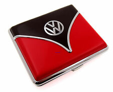 Cigarette Case - Volkswagen Samba Black Red Chrome King Size - NEW Licensed