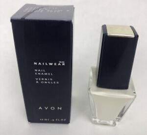 Avon NAIL WEAR Nail Enamel 12 FL OZ - FRENCH TIP WHITE - NOS - FSTSHP- *1