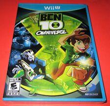 Ben 10: Omniverse Nintendo Wii U *Factory Sealed! *Free Shipping!