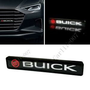 LED Car Logo Light Car Front Grille Badge Illuminated Decal Sticker for Buick