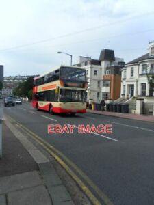 PHOTO  BRIGHTON AND HOVE BUS COMPANY BUS YP09 HWD ROUTE: 5 DESTINATION: HANGLETO