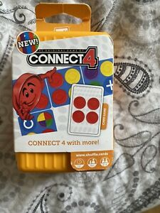Connect 4 Card Game Travel Version