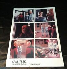 Star Trek Collage of Photos Autographed/Signed by Jeff Rector 8x10 Glossy Color