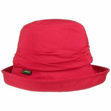 Seeberger Bucket hat wasserabweisend// UV Schutz schwarz Regenhut Outdoor Hüte